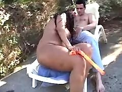 Horny plump sweetie gets screwed in bbw porn videos