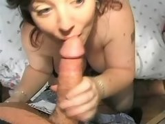 Two busty plump sluts serve clients